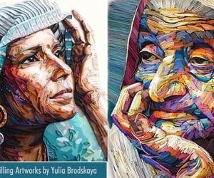 art, creative art, and paper art image