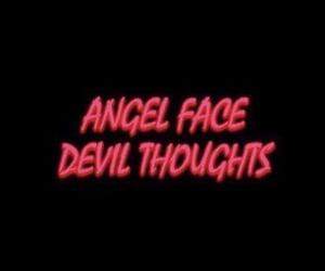 666, angel, and Devil image
