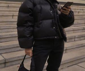 black jacket, blogger, and fashion image