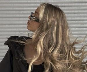 blonde, fashion, and pinterest image