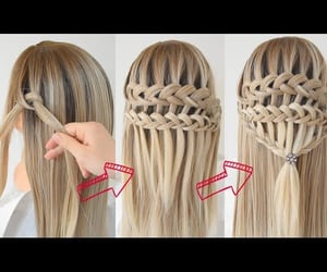 fashion, hairstyle, and trecce image
