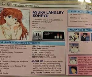 asuka, evangelion, and magazine image