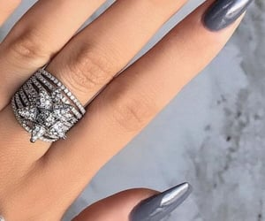 beauty, diamonds, and girl image