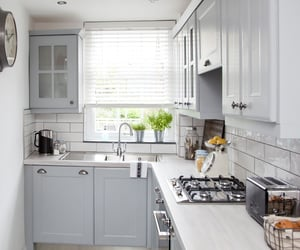 kitchen design ideas and l-shaped kitchen desing image