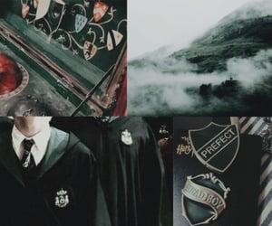 aesthetic, slytherin header, and draco malfoy header image