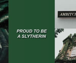 aesthetic, slytherin header, and header slytherin image