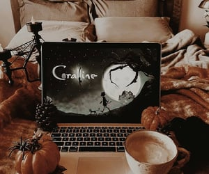 autumn, coraline, and Halloween image