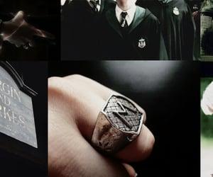 draco malfoy, hogwarts, and snake image