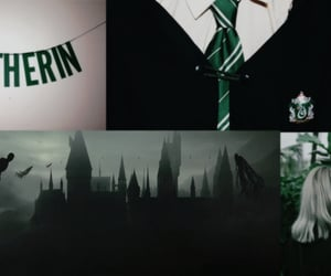 aesthetic, snake, and slytherin header image