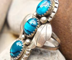 american indian, etsy, and vintage ring image