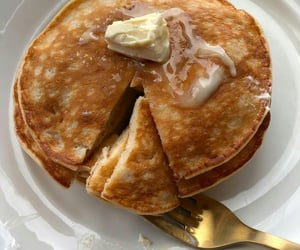 aesthetic, food, and and pancakes image image