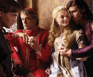 Jeremy Irons, holliday grainger, and cesare borgia image