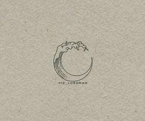 illustration, illustrations, and moon image