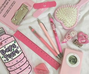 aesthetic, korean, and pink image