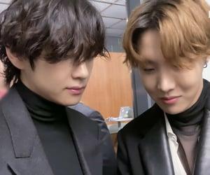 bts, jung hoseok, and kim taehyung image