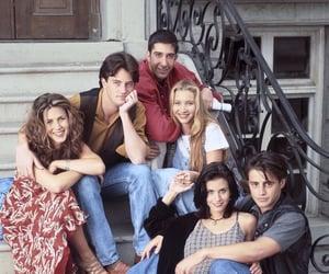 friends, rachel, and Joey image