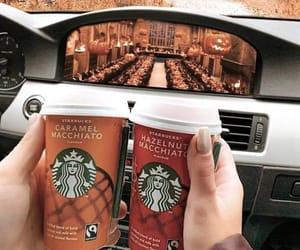autumn, caffeine, and cappuccino image