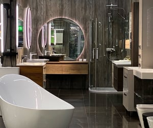 aesthetic, bath, and design image