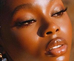 beauty, black women, and melanin image