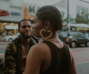 beauty, black love, and melanin image