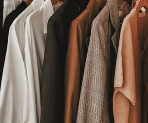 clothes, fall, and coat image