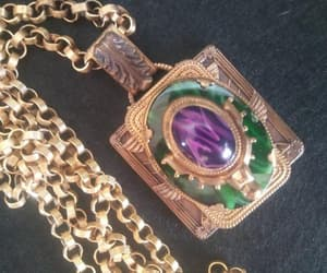 etsy, chunky chain, and estate jewelry image