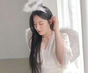 angel, black, and girl image