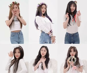 asian, group, and idle image
