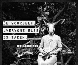 quotes, oscar wilde, and yourself image