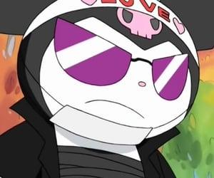 anime, grunge, and hello kitty image