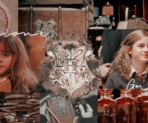 aesthetic, header gryffindor, and hogwarts header image
