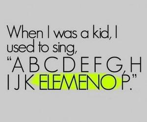 kids, funny, and alphabet image