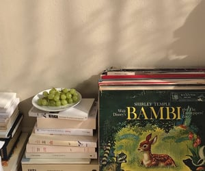 books, bambi, and vintage image