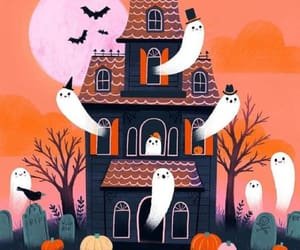 Halloween and illustration image