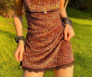 aesthetic, leopard, and leopard print image