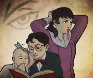A Series of Unfortunate Events, count olaf, and Violet Baudelaire image
