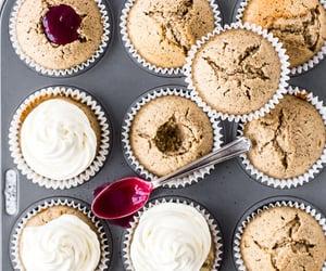 cupcakes, earl grey, and earl grey cupcakes image