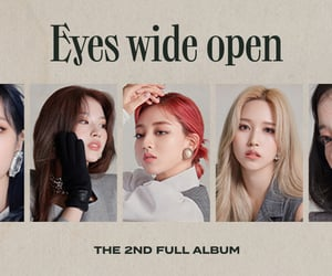 banner, eyes wide open, and twice image