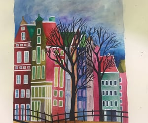 cityscape, water color, and netherlands image