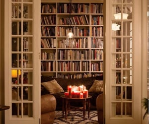 book, home, and cozy image