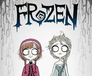 creepy, Halloween, and frozen image