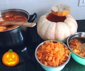 cocina, Halloween, and calabaza image