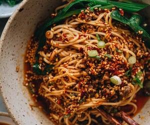 Homemade Dan Dan noodles