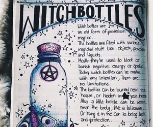 tips, wicca, and witch bottles image