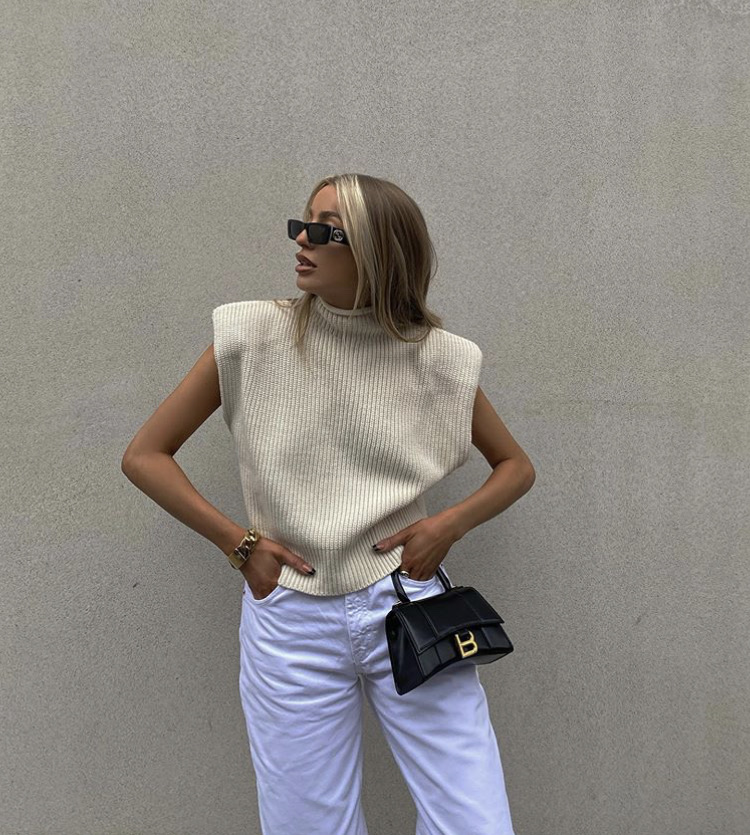 balenciaga bag, everyday look, and gucci sunglasses image
