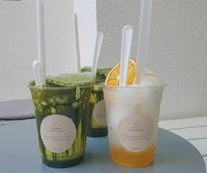 green, white, and matcha image