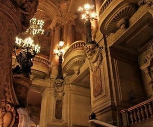 chandelier, palace, and auesthetic image