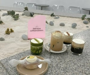 beige, cafe, and korea image
