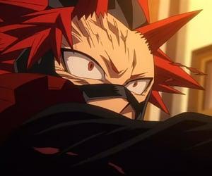 kirishima, red riot, and boku no hero academia image