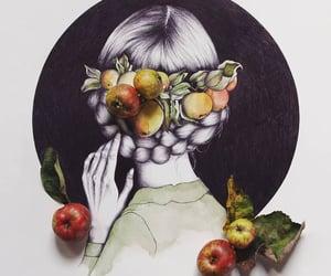 apple, plait, and autumn image